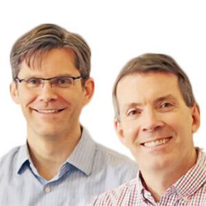 Profile photo of Patrick Curran and Dan Bauer